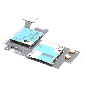 SIM Card Holder Micro SD Memory Slot Port Flex Cable for Samsung N7100 Galaxy Note 2