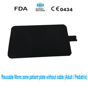 Disposable Monozone Electrosurgical Unit Patient Plate for Adult or Pediatric pictures & photos