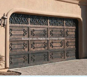 Beautiful Wrought Garage Iron Door for Hous Building pictures & photos