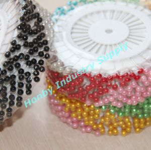 Round Head Pearl Wheel Hijab Pins