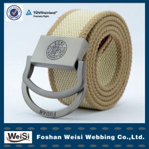 Popular Men D-Ring Woven Belt Strap Canvas Fabric Belt