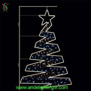 Fancy 2D LED Christmas Tree Light with Flash pictures & photos