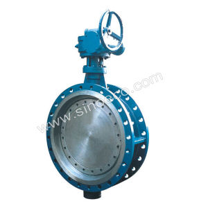 Carbon Steel Tripple Offset Wafer Butterfly Valve pictures & photos