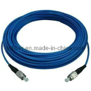 FC/UPC-FC/UPC Armored Fiber Optic Patch Cable (Armored Fiber Optical Jumper) pictures & photos