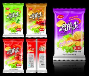 Composite Organ Bag for Potato Chips/ Fin/Lap Seal Pouch/BOPP+Al+PE Composite Bag pictures & photos