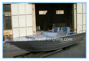 13.8FT 4.2m Open Top Aluminium Power Boat Qm420 pictures & photos