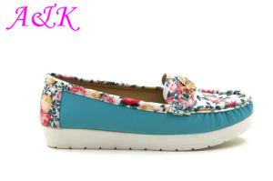 Women Comfortable Fashion Casual Flat Lady Shoe (A1412047)