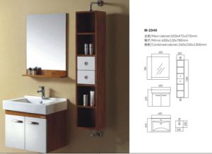 Fashion Modern Style Bathroom Vanity Cabinet pictures & photos