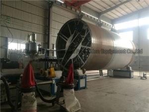 Big Diameter Plastic Hollow Wall Winding Drain Pipe Extrusion Machine pictures & photos