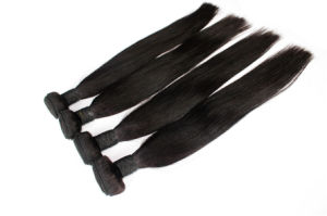 8A Straight Natural Color Brazilian Virgin Human Hair pictures & photos