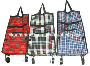 Foldable Wheel Shopping Bag (XY-415D) pictures & photos