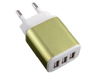 Universal 5V 2.1A Socket Micro Travel Charger Mobile Phone Accessories EU Plug Wall Charger