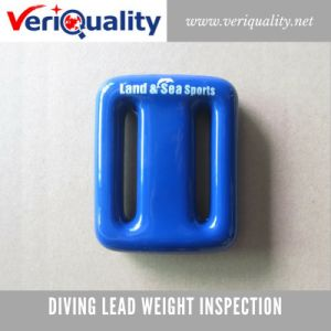 Diving Lead Weight Quality Control Inspection Service at Raoping, Guangdong pictures & photos