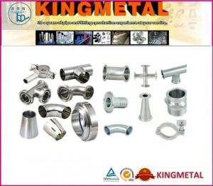 3A Stainless Steel Sanitary Pipe Fittings pictures & photos