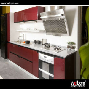 Welbom Red and Black 2 PAC Paint Kitchen Decoratiom pictures & photos