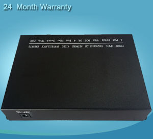 Nvt Ethernet 4 Ports Poe Fiber Switch