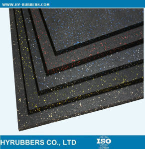 Gym Interlocking Rubber Tiles Sports Rubber Mat pictures & photos