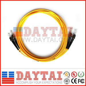 Standard Fiber Optic St/Upc Dual Fiber Patch Cord pictures & photos