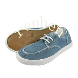 Hot New Arriving Style Men′s Canvas Shoes pictures & photos