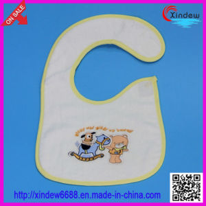 Heavy Cotton Terry Baby′s Bib pictures & photos