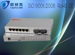 10/100m 2 Optic + 6 RJ45 Mini Fiber Switch (TA726-FE/S20)