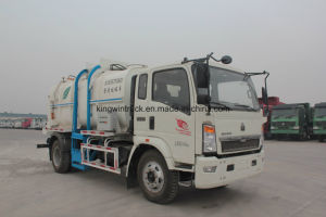 14m3 Sinotruk 4X2 Fecal Sewage Suction Truck pictures & photos