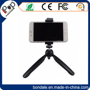 Rotatable Mini Tripod with Phone Clamp pictures & photos