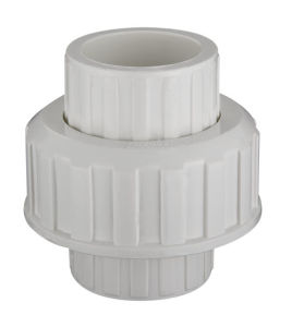PVC Pipe Fittings Union (SCH40) pictures & photos