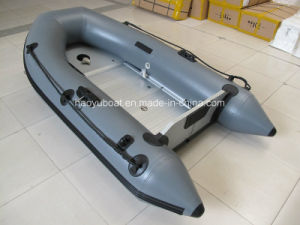 2.7m Fashionable Aluminum Floor Boat, Sports Boats, Rowing Boats with CE Certification pictures & photos
