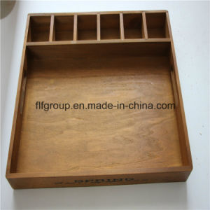 Customized Hand Painted Wall Decorative Wood Soap Box pictures & photos