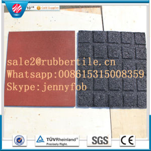 Playground Rubber Tiles Rubber Flooring Tiles Outdoor Rubber Tile pictures & photos