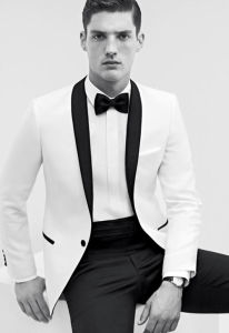 2014 Italian New Style Business Suit. with Black and White pictures & photos