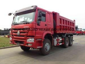Qingzhuan HOWO 25t 6X4 Dump Truck pictures & photos