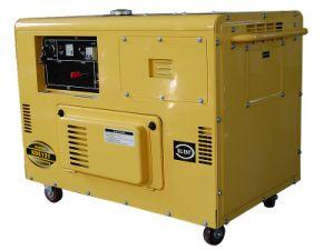 10kVA Portable Silent Type Diesel Generator pictures & photos