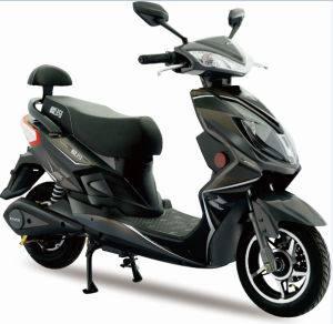 48V Mini Electric Motorcycle Scooter with Aluminum Front Fork pictures & photos