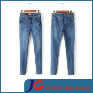 Factory Wholesale Fashion Girls Trousers Jean Pants (JC1324) pictures & photos