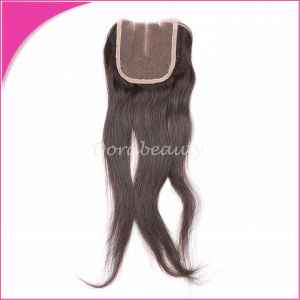 Hot Selling Straight Hair Closure Brazilian Hair pictures & photos