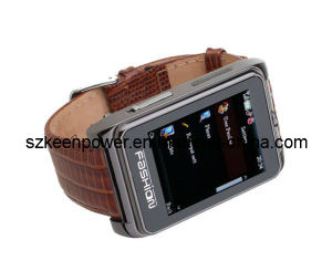 Quad Band Watch Phone 1.8 Inch Touch Screen Bluetooth Camera Watchphone pictures & photos