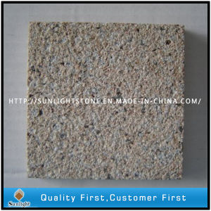 Bushhammered Beige/Yellow Colours Desert Gold Granite Floor Tiles pictures & photos