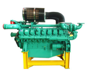 60Hz 1800rpm Googol P Serie Marine Diesel Engine 400kw-1000kw pictures & photos