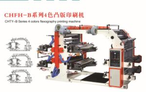 Chty-B 4 Colors Flexography Printing Machine pictures & photos