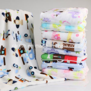 Newborn Baby Blankets Flannel Air Conditioning Blanket pictures & photos