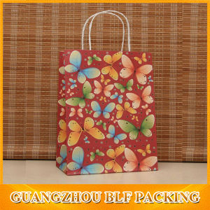 Painted Design Recyclable Paper Bag pictures & photos