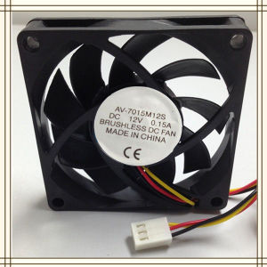 DC Cooling Fan 70X70X15mm Made in China