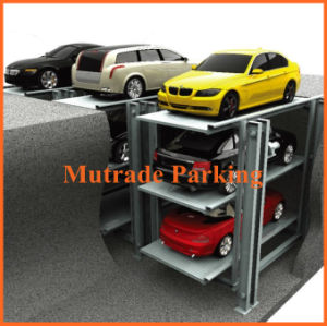 4 Post Basement Parking, Underground Parking, Basement Lift (PFPP) pictures & photos
