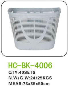 Plastic Bicycle Basket for All Kinds of Bicycle (BK-4006) pictures & photos