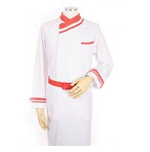 Cotton Made Hotel Use Long Sleeves Chef Uniform pictures & photos