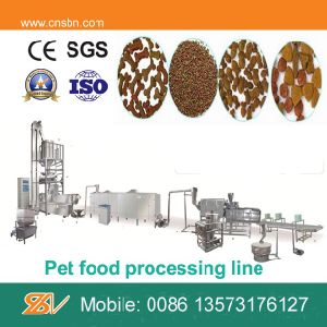 Stainless Steel Twin-Screw Extruder Pet Food Extruder pictures & photos