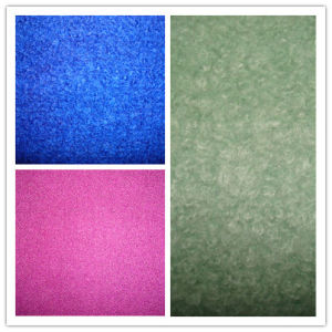 Terry Fleece Wool Acrylic Woolen Knit Fabric pictures & photos