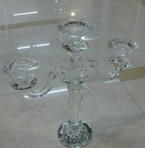 Crystal Candelabra for Wedding Decoration